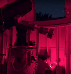 The 16-inch RC Telescope at the Leitner Observatory