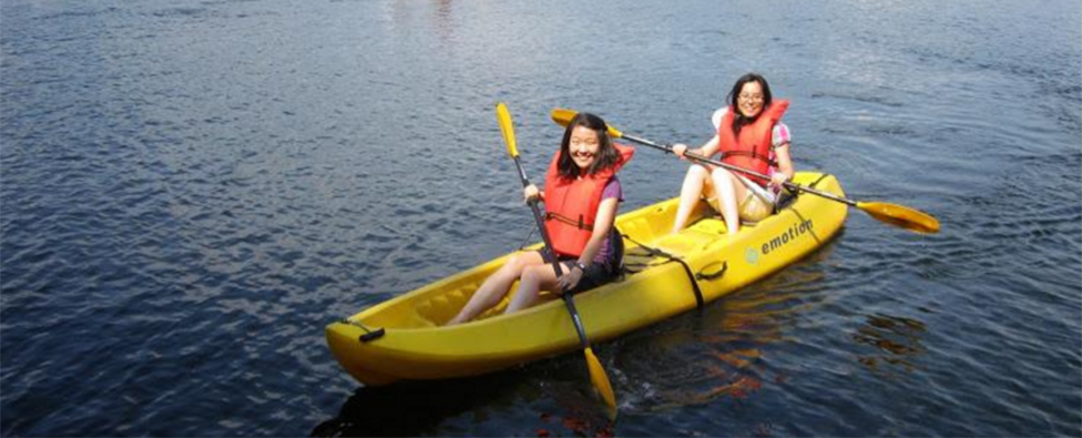 Image of canoeing at Yale Outdoor Education Center