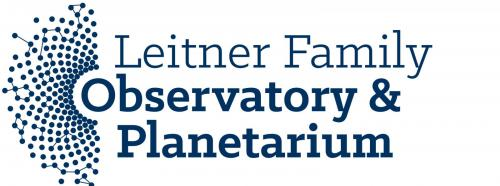 Leitner Family Observatory and Planetarium logo